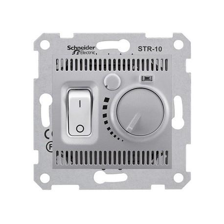 Regulator temperatury Schneider Sedna SDN6000160 aluminium