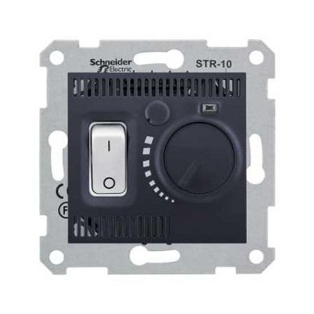 Regulator temperatury Schneider Sedna SDN6000170 grafitowy