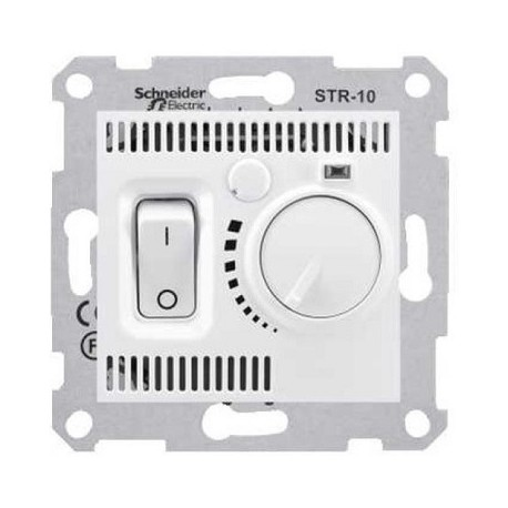 Regulator temperatury podłogowy Schneider Sedna SDN6000321 biały