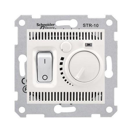 Regulator temperatury podłogowy Schneider Sedna SDN6000323 kremowy