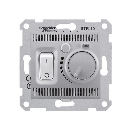Regulator temperatury podłogowy Schneider Sedna SDN6000360 aluminium