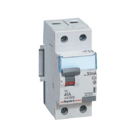 Wyłącznik różnicowoprądowy Legrand 411502 P302 TX3 16A 10mA 2P AC