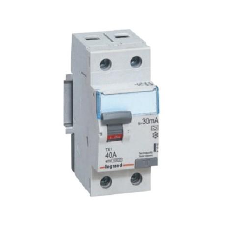 Wyłącznik różnicowoprądowy Legrand 411510 P302 TX3 40A 30mA 2P AC