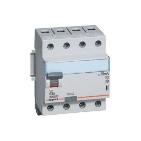 Wyłącznik różnicowoprądowy Legrand 411709 P304 TX3 63A 30mA 4P AC