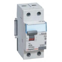 Wyłącznik różnicowoprądowy Legrand 411010 P312 DX3 C6  30mA 2P AC