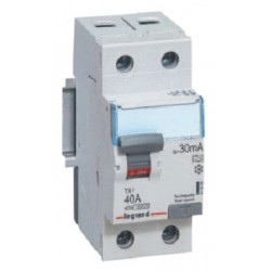 Wyłącznik różnicowoprądowy Legrand 411013 P312 DX3 C16 30mA 2P AC