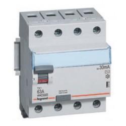 Wyłącznik różnicowoprądowy Legrand 411185 P314 DX3 C10 30mA 4P AC