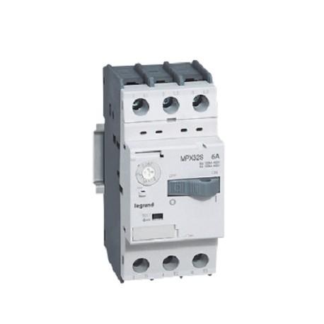 Wyłącznik silnikowy Legrand 417303 MPX3 32S 0,4-0,63A stand. zdolność zwarciowa