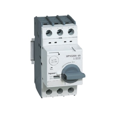 Wyłącznik silnikowy Legrand 417351 MPX3 32MA 13A z wyzwalaczem magnetycznym