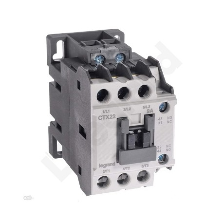 Stycznik Legrand CTX3 416116 3P 22A 1NO1NC 230V AC