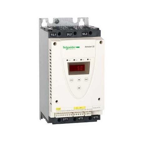 Softstart Schneider Altistart 22 ATS22D75S6 45kW 75A 3X240/440V AC