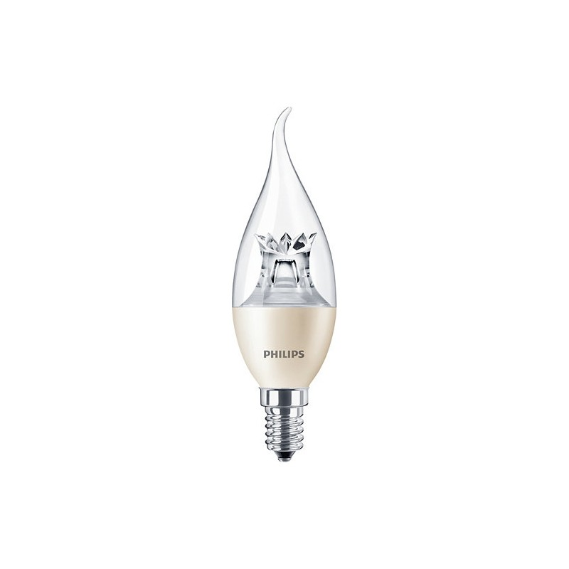 Źródło światła LED Philips MAS LEDcandle DT 827 E14 BA38 6-40W