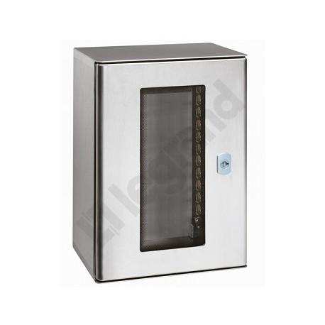 Obudowa metalowa z drzwiami szklanymi Legrand Atlantic Inox 035225 600x400x250 IP66