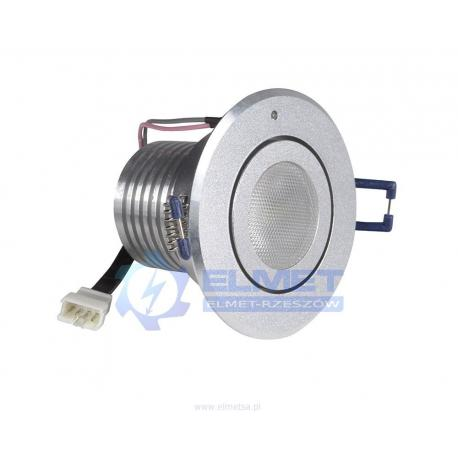 Oprawa awaryjna Intelight STARLET LED 5 W 3h SA/A srebrna