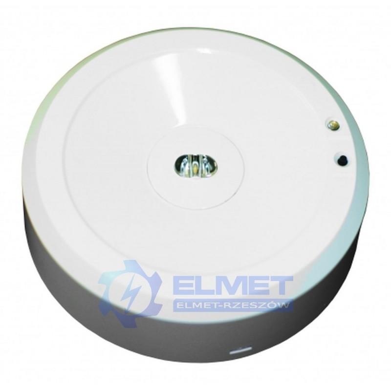 Oprawa awaryjna Intelight STARLET EXTERNAL 3 W 3h A SC biały