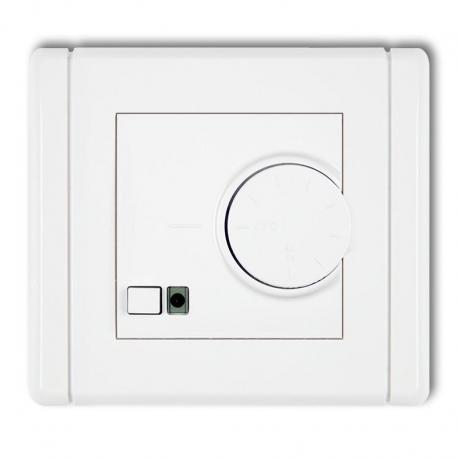 Karlik FLEXI Elektroniczny regulator temperatury z czujnikiem podpodłogowym biały FRT-1