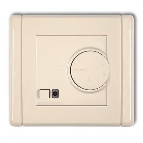 Karlik FLEXI Elektroniczny regulator temperatury z czujnikiem podpodłogowym beżowy 1FRT-1
