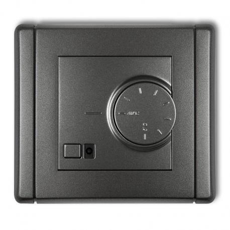 Karlik FLEXI Elektroniczny regulator temperatury z czujnikiem podpodłogowym grafitowy 11FRT-1