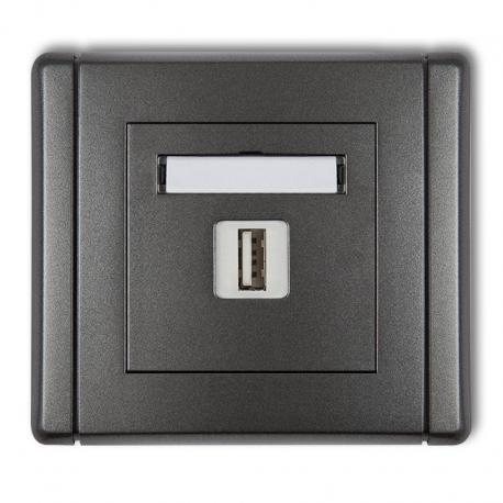 Ładowarki USB pojedyncza, 5V, 1A