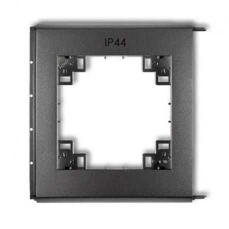 Karlik Ramka zewnętrzna do łączników IP44 prod. uzupełniające grafitowy