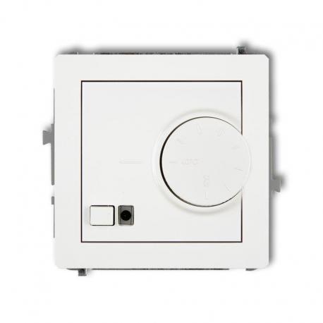 Karlik DECO Mechanizm elektronicznego regulatora temperatury z czujnikiem podpodłogowym biały DRT-1