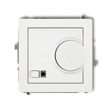 Karlik DECO Mechanizm elektronicznego regulatora temperatury z czujnikiem powietrznym biały DRT-2