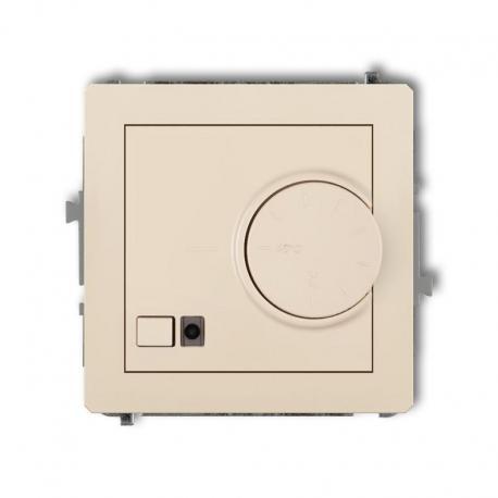Karlik DECO Mechanizm elektronicznego regulatora temperatury z czujnikiem podpodłogowym beżowy 1DRT-1