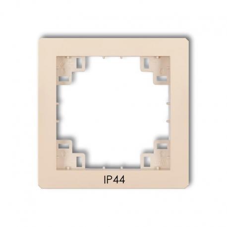 Karlik Ramka pośrednia do łączników IP44 prod. uzupełniające beżowy