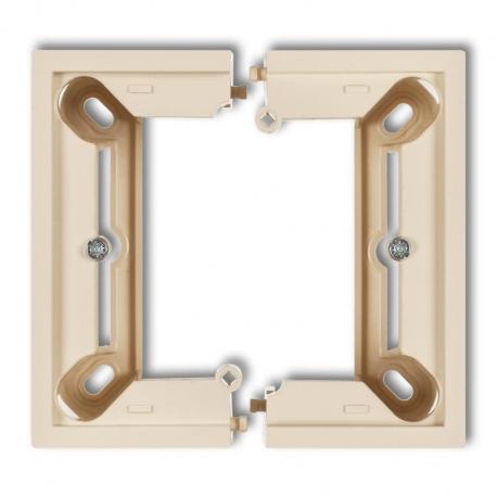 Karlik Puszka natynkowa pojedyncza, składana DECO DECO beżowy