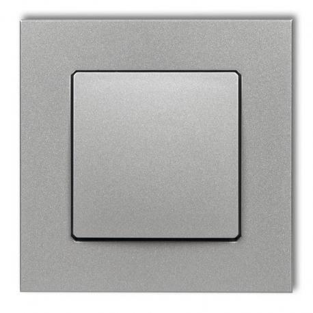 Karlik Gniazdo ssące odkurzacza centralnego DECOvac DECO srebrny metalik