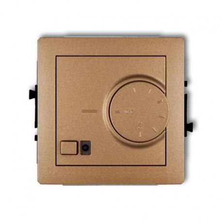 Karlik DECO Mechanizm elektronicznego regulatora temperatury z czujnikiem powietrznym złoty metalik 8DRT-2
