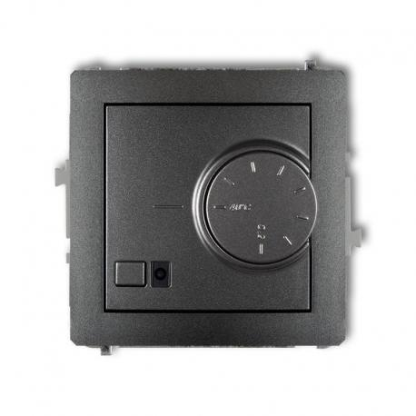 Karlik DECO Mechanizm elektronicznego regulatora temperatury z czujnikiem powietrznym grafitowy 11DRT-2