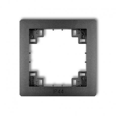 Karlik Ramka pośrednia do łączników IP44 prod. uzupełniające grafitowy