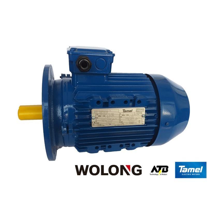 Silnik elektryczny trójfazowy Tamel 4SKG132S-4-IE3 5.5 kW B5