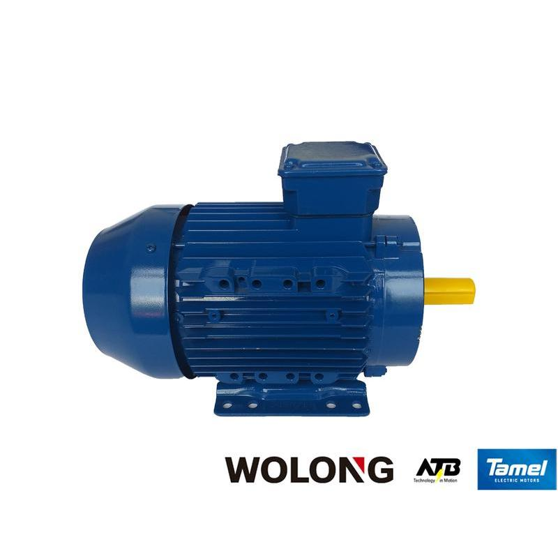 Silnik elektryczny jednofazowy Tamel 3SFEg80-4B 0.75 kW B3