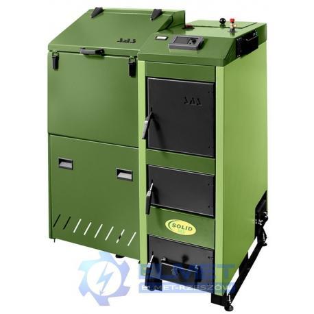 Kocioł SAS SOLID 14 kW z podajnikiem na eko-groszek