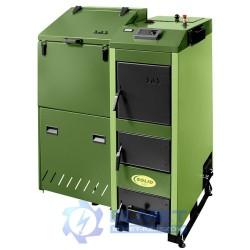 Kocioł SAS SOLID 36 kW z podajnikiem
