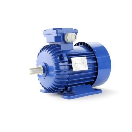 Silnik elektryczny jednofazowy z podwyższonym momentem rozruchowym Besel SEMh56-4C 0,09 kW, B3 łapowy