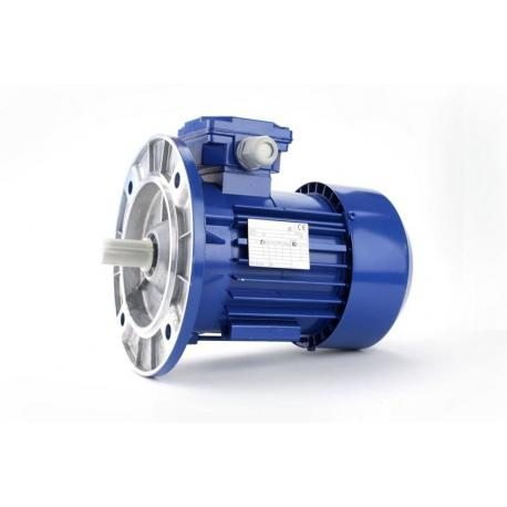 Silnik elektryczny jednofazowy z podwyższonym momentem rozruchowym Besel SEMKh90-2L 1.5 kW, B5 kołnierzowy