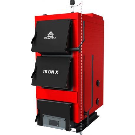 Kocioł zasypowy na drewno i węgiel 5 Klasy KLIMOSZ IRON-X 10kW