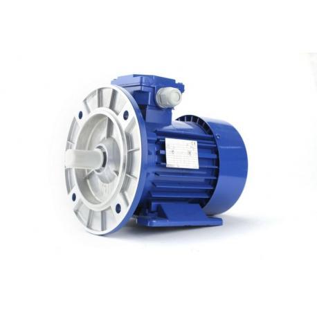 Silnik elektryczny jednofazowy Besel SELh56-4C 0,12 kW, łapowo kołnierzowy B34/2