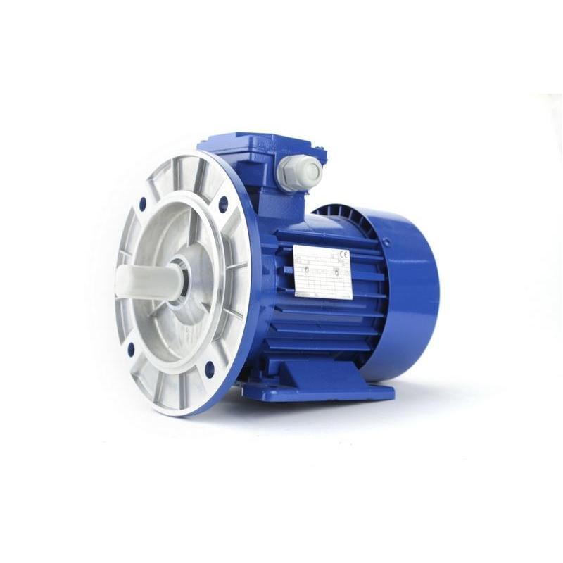 Silnik elektryczny jednofazowy Besel SELh63-4A 0,12 kW, łapowo kołnierzowy B34/2