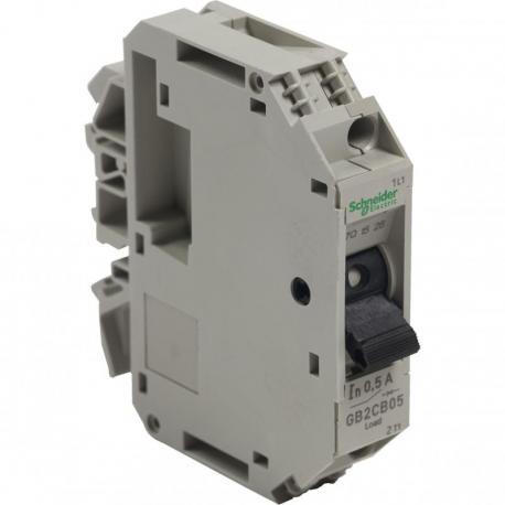 Wyłącznik silnikowy miniaturowy GB 0,5A 1P