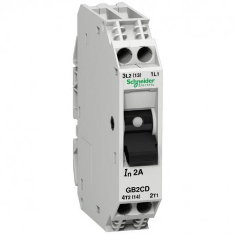 Wyłącznik silnikowy miniaturowy GB 6A 1P+N