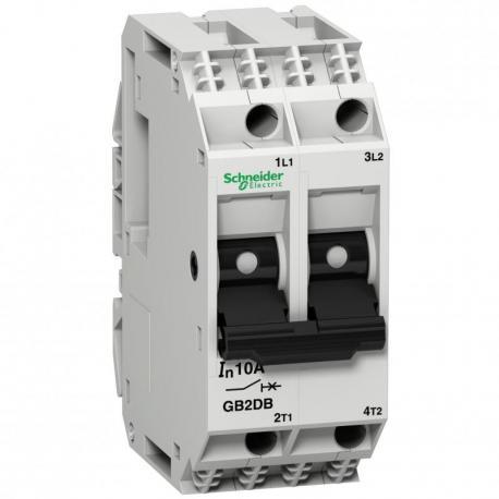 Wyłącznik silnikowy miniaturowy GB 10A 2P