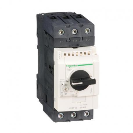 Wyłącznik silnikowy magnetyczny TeSys GV3L napęd obrotowy 50A zaciski skrzynkowe