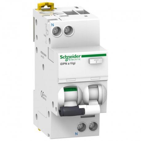 Wyłącznik kombinowany iDPNaVigi-C10-10-1N-AC C 10A 1N-biegunowy 10 mA typ A
