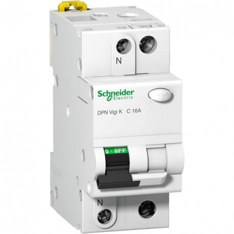Wyłącznik kombinowany DPNVigiK-C16-30-AC C 16A 1N-biegunowy 30 mA typ AC