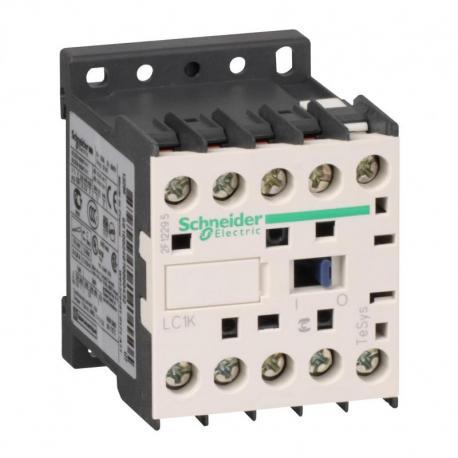 Stycznik mocy TeSys K AC3 9A 3P 1NO cewka 24VAC zaciski skrzynkowe
