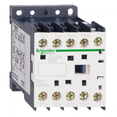 Stycznik mocy TeSys K AC3 12A 3P 1NO cewka 230VAC zaciski skrzynkowe